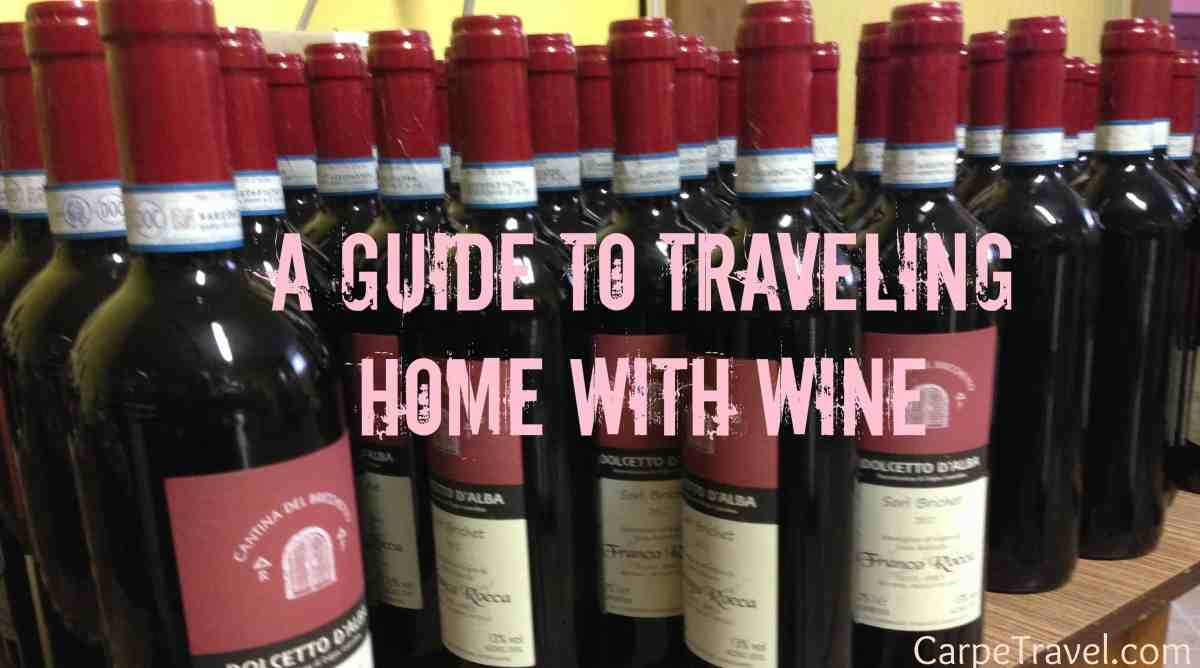 5 Tips on Shipping Wine Back from Overseas